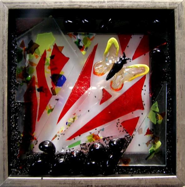 Mosaikker str 20*20 cm cm, af Mette Enøe, glaskunster og specialist.  Se det flotte udvalg. Fremvisning af galleri efter aftale.