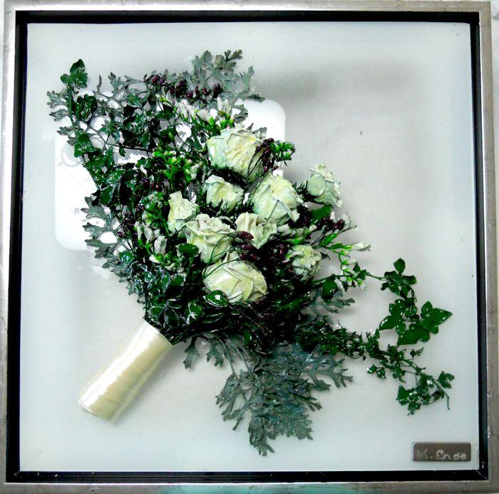 Bevar brudebuketten, tørret buket,  tørrede blomster, presning af brudebuket