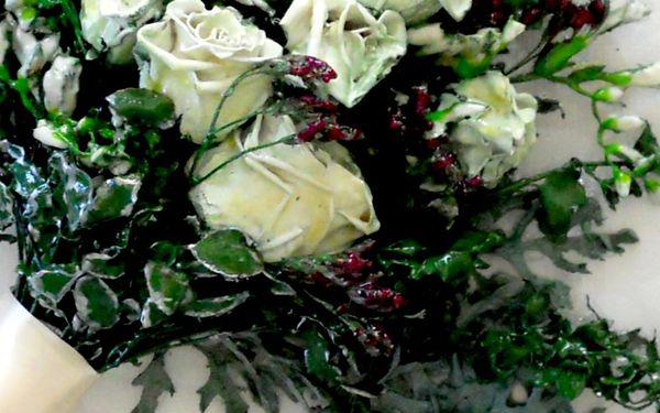 Bevar brudebuketten, tørret buket, konserveret brudebuket, konserver brudebuket, brudebuket, tørrede blomster,  presning af brudebuket