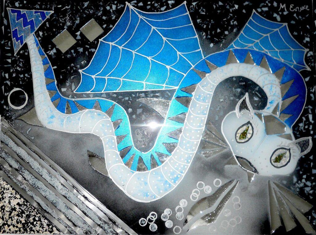 stænkplader, bagplader, køkken kunst, køkken bagplader, Enøe, glaspatch glaskunst, glaskunst udstilling, glaskunst galleri, Kunstmosaik, mosaik, glaskunst,  special opgaver, glaskunst bestilling,
