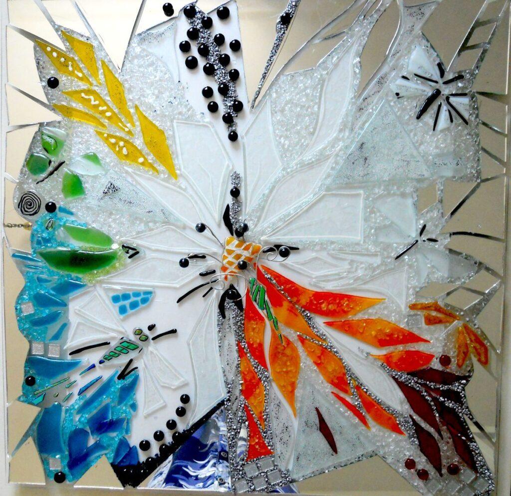 Store mosaikker, udendørs kunst, kunstmosaik, glasmosaik, glaskunst, glaskunst galleri, Glaspatch, Glaspatch glaskunst, Mette Enøe, glaskunst udstilling, Livets træ