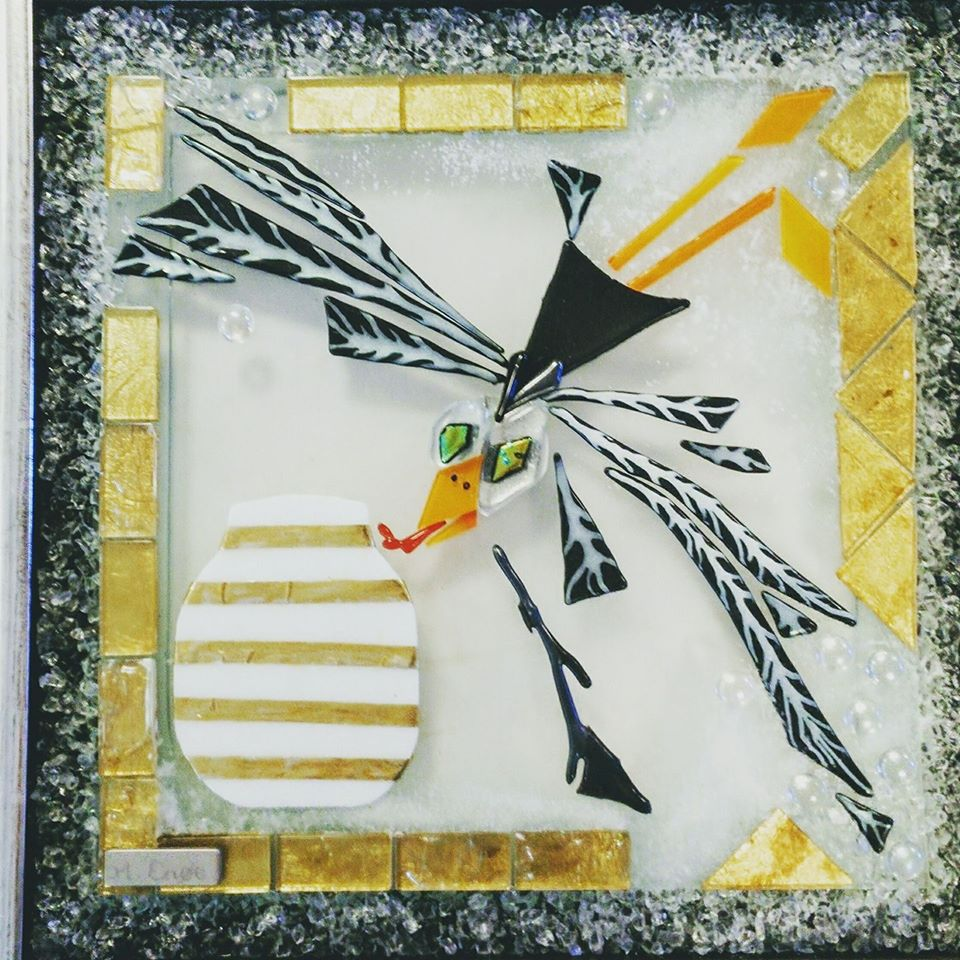 mosaik, kunstmosaik, mosaikkunst, Glaspatch, Mette Enøe, glaskunst, glaskunst udstilling, glaskunst galleri. galleri, kunstudstilling; Kehler