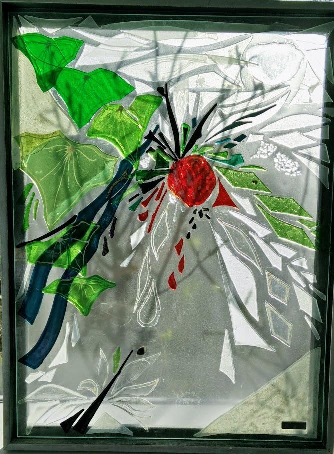 glaskunst, glaskunst galleri, Glaspatch, Glaspatch glaskunst, Mette Enøe, glaskunst udstilling, Eva og syndefaldet, kunst, kunst udstilling.