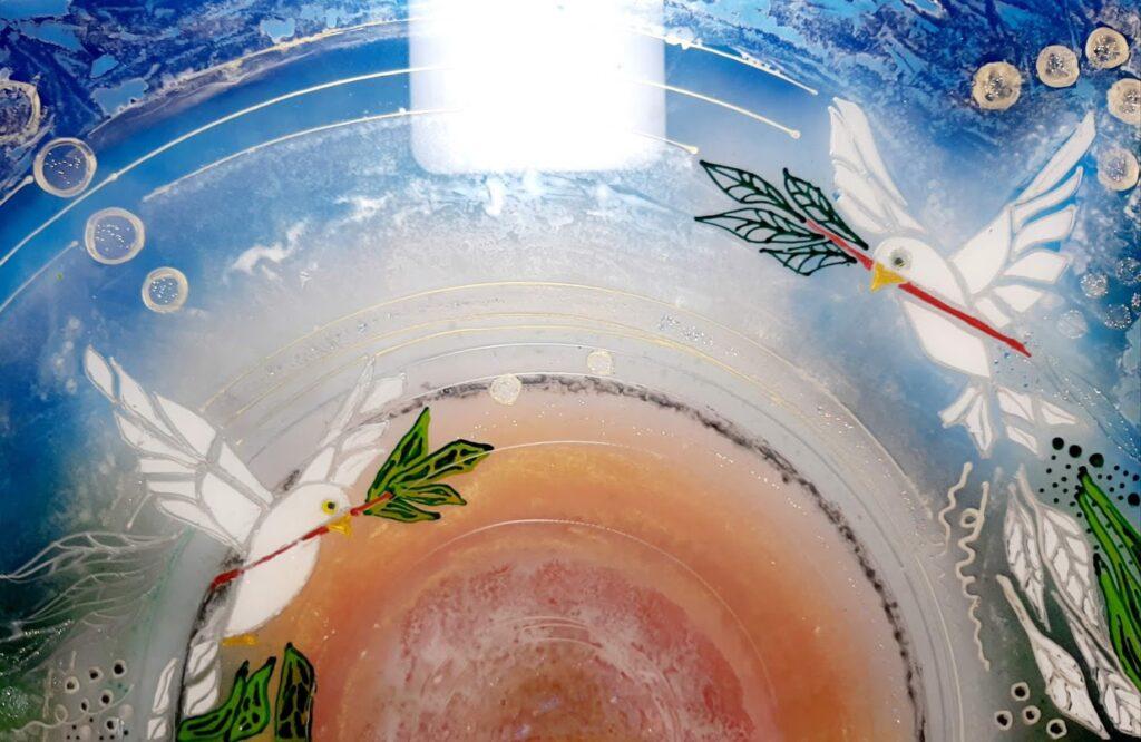 glaspatch glaskunst, glaskunst udstilling, glaskunst galleri, glaskunst,  special opgaver, glaskunst bestilling, stænkplade, bagplade, bagplade køkken,